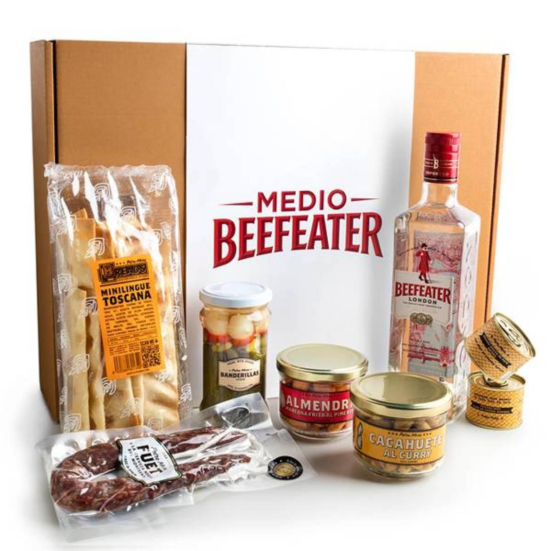 Medio Beefeater and Tonic Petra Mora Regalos gourmet Navidad