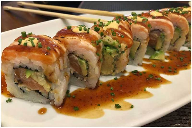 Elvis Roll Yamato Sushi Bar Heron City