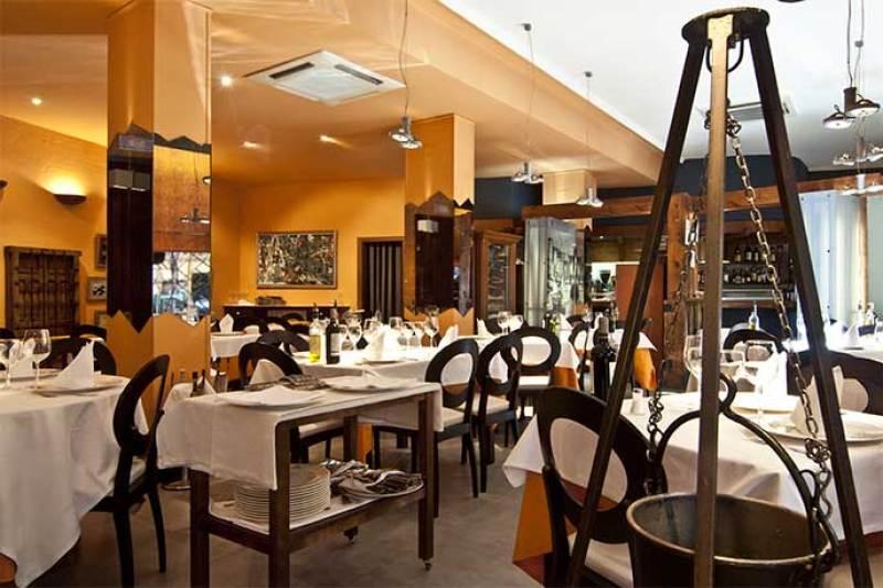 Comedor restaurante El Caldero