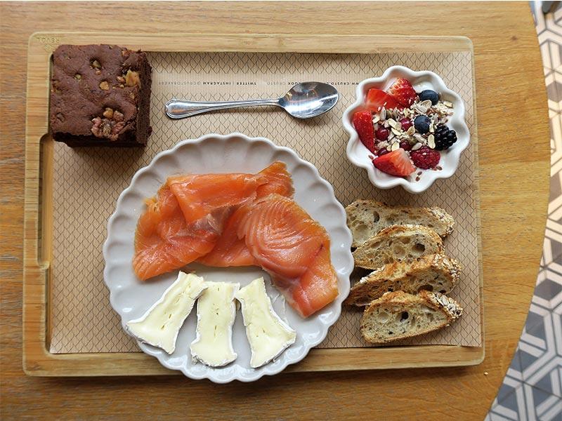 Crusto Brunch Salmon y queso