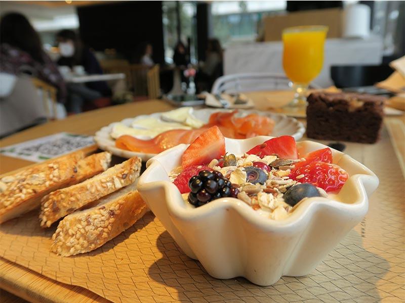 Crusto Brunch yogur con frutas del bosque y muesli