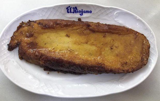 Pasteleria El Riojano Las mejores torrijas de Madrid de 2017