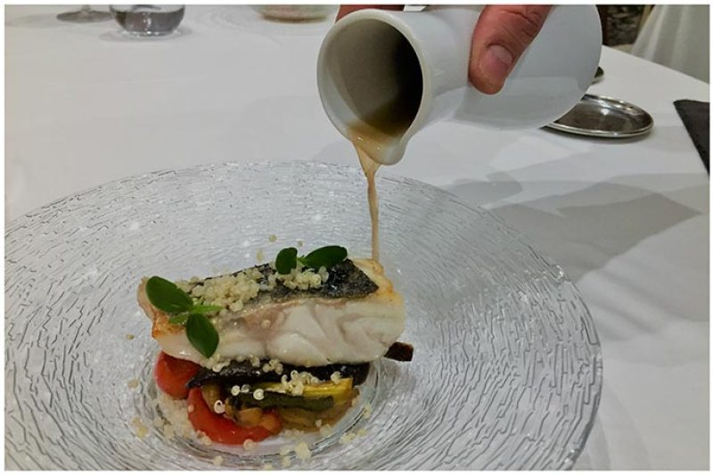 Lubina salvaje del Cantabrico Restaurante Conlaya Madrid