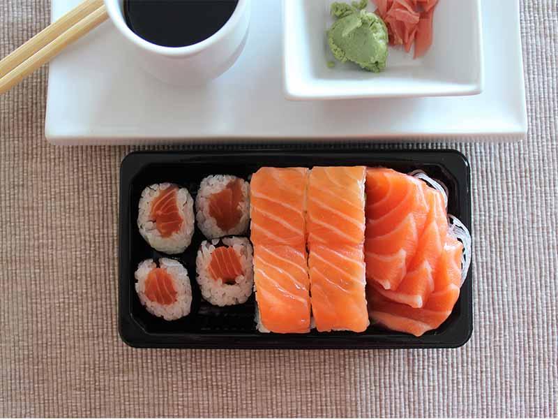 Gosushing sushi de salmon