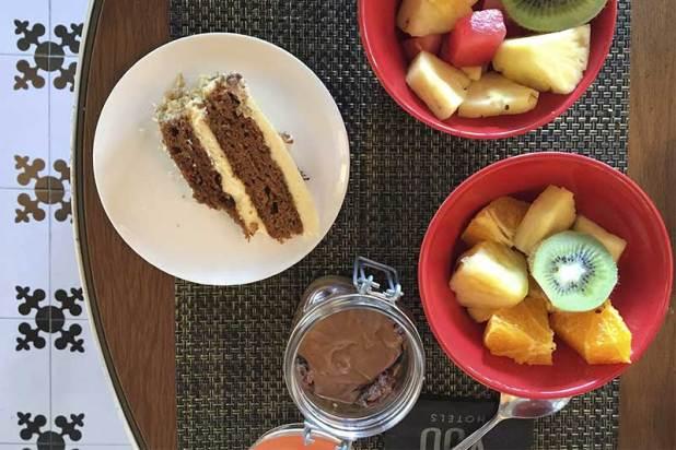 Tartas fruta Brunch de Only YOU Hotel Atocha