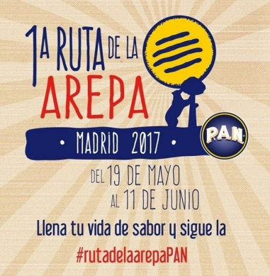 I Ruta de la Arepa en Madrid 2017