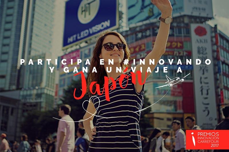 Premios Innovacion Carrefour 2017 Viaje a Japon