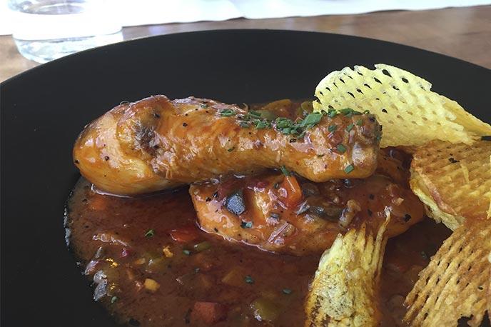 Pollo al Chilindron Restaurante Casa de Aragon