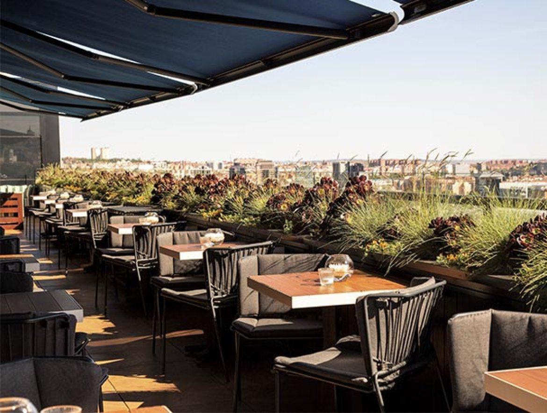 Hotel Only You Atoche Mejores terrazas de Madrid de 2017