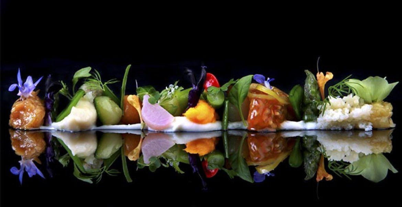Gastronomica Ultima cena del restaurante Coque en Humanes de Madrid