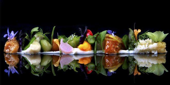 Ultima cena del restaurante Coque en Humanes de Madrid 2 estrellas Michelin