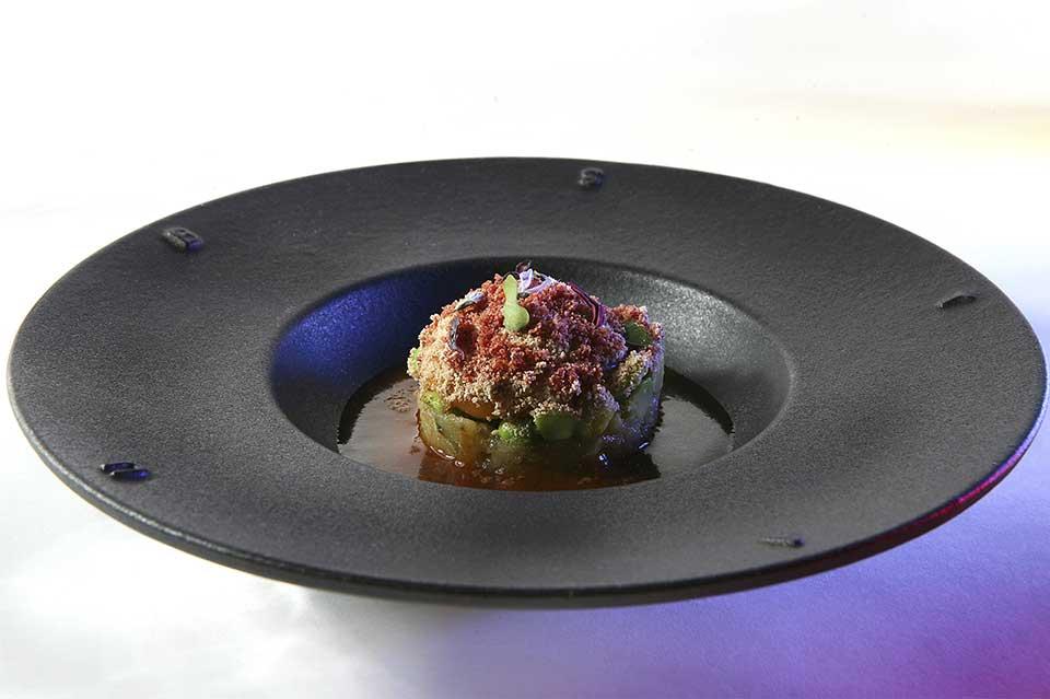 Huevo castellana Ultima cena del restaurante Coque en Humanes de Madrid
