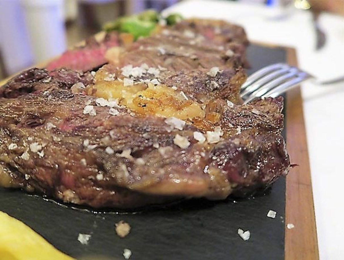 Chuleton Gallego Restaurante La Clave Madrid