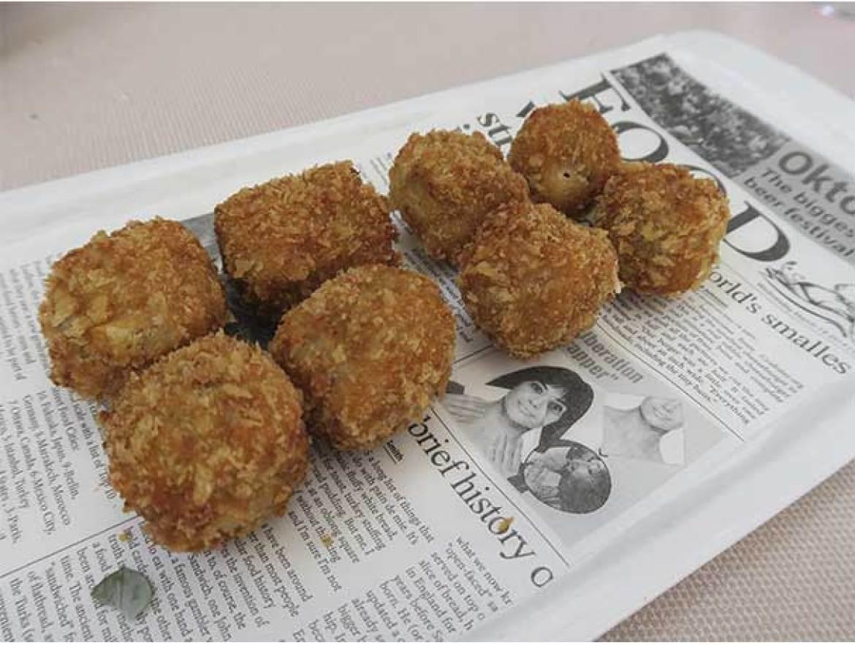 Croquetas de jamón ibérico de bellota III Ruta de la Paella restaurante Que si quieres arroz Catalina