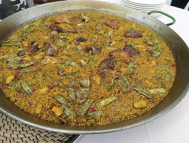 Paella Valenciana III Ruta de la Paella restaurante Que si quieres arroz Catalina