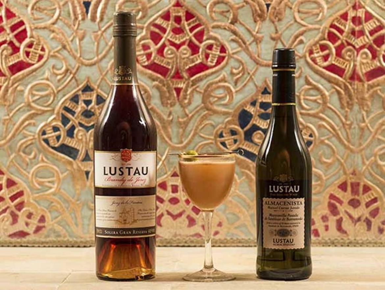 Coctel ganador La Sobremesa con vinos de Bodegas Lustau