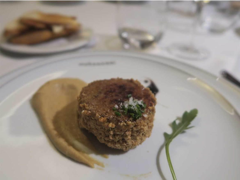 Restaurante Muñagorri Foie gras mi-cuit trufado