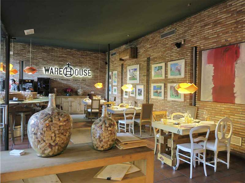 Restaurante Warehouse Madrid