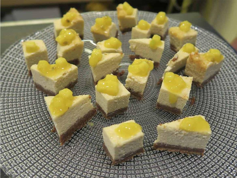 Tarta de queso Brunch tematico piu trentanove Plaza de Castilla