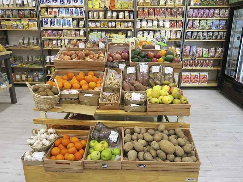 Planet Organic restaurante ecologico Market