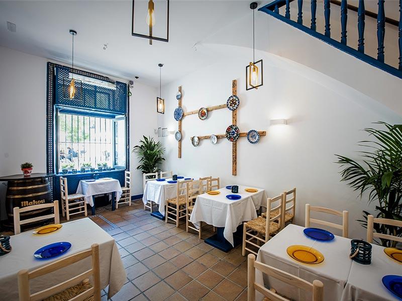 restaurante La Malaje comedor