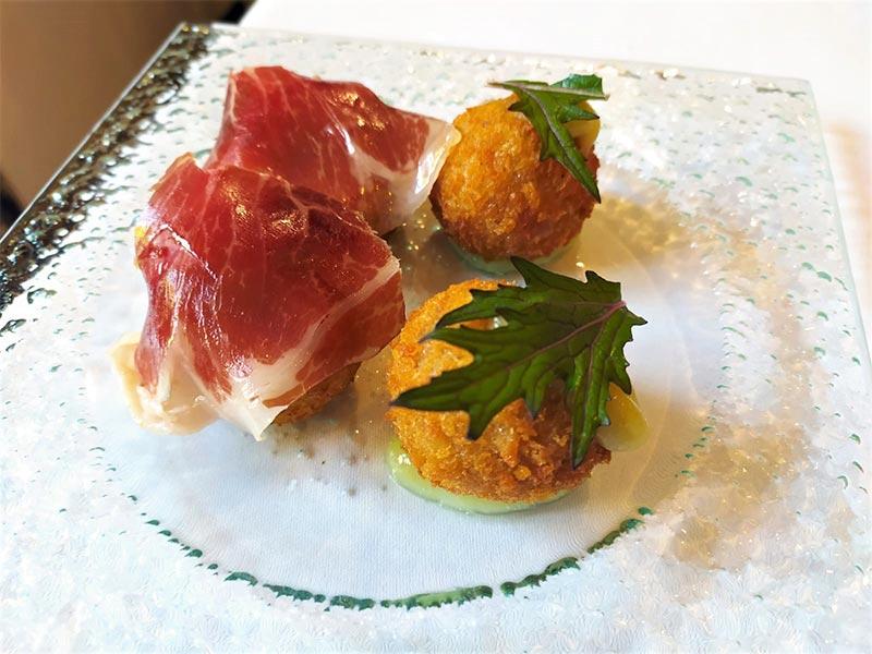 restaurante La Malaje croquetas de jamon y de puchero
