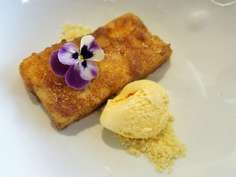 Menu de San Isidro en Arado Grocery & Restaurant en el Hotel Melia Serrano Leche Frita