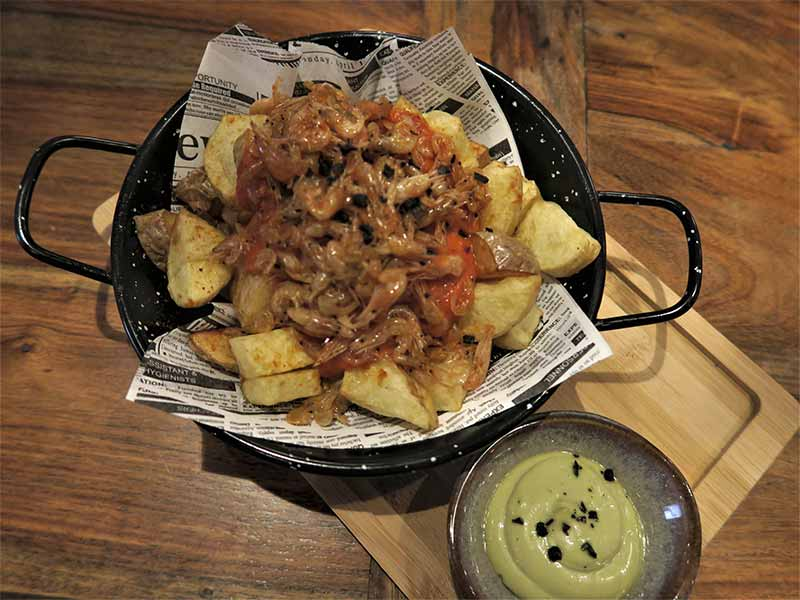 Patatas Bravas Restaurante Nomada Madrid