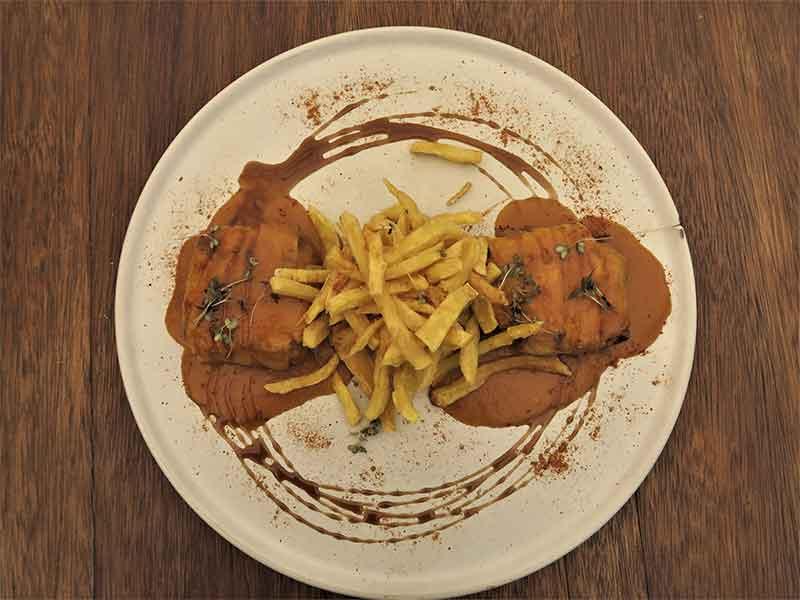 Restaurante Midtown Madrid Crepes de pato