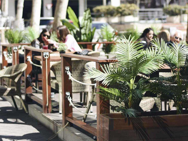 Restaurante Midtown Madrid terraza