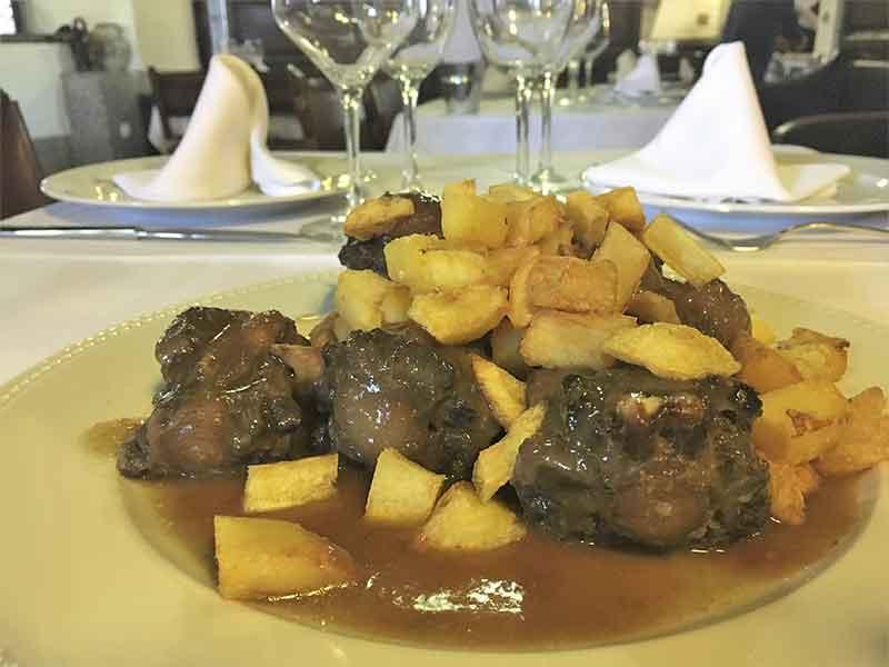Restaurante Tejas Verdes Rabo de Toro