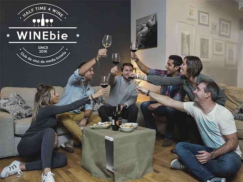 WINEbie regala vino por suscripcion