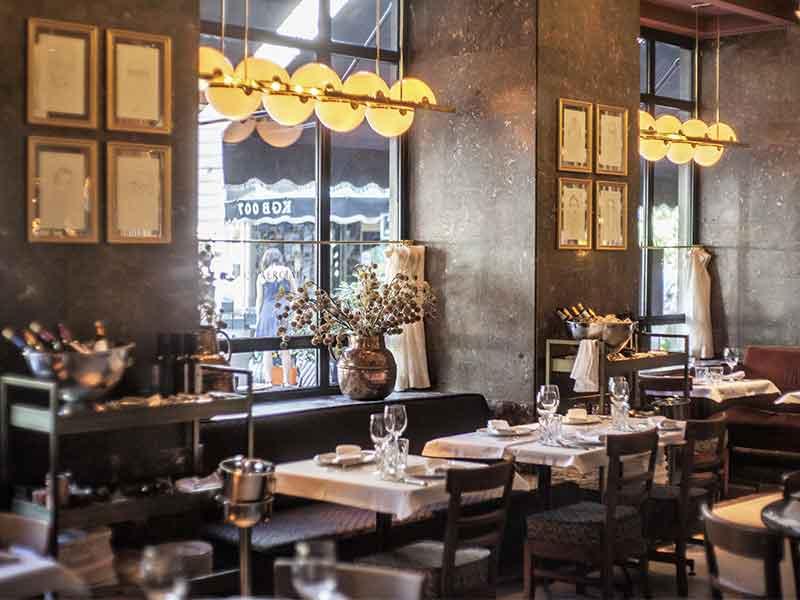 Cafe Comecial Madrid Cristaleras
