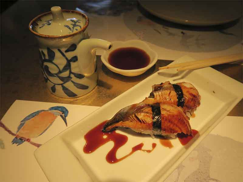 Matcha House Sushi de Anguila