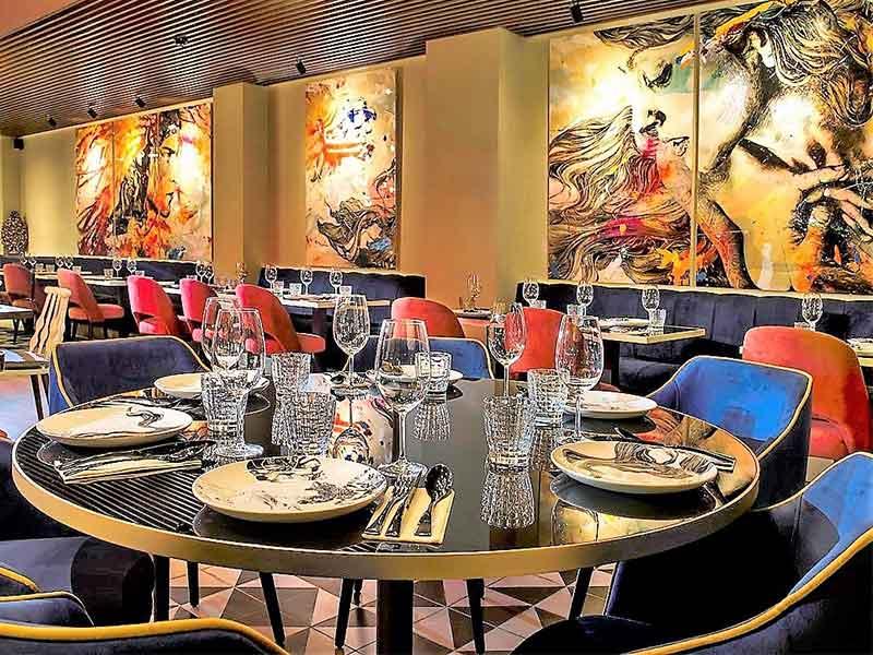Restaurante Itzac comedor