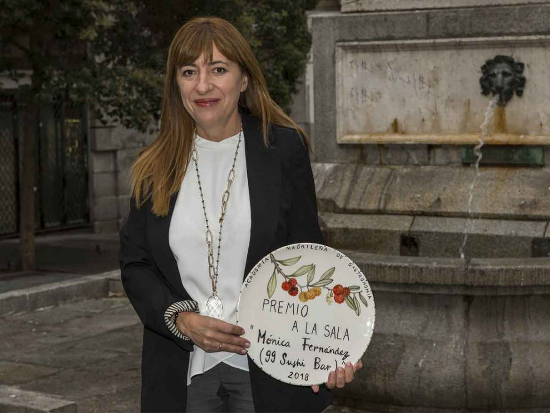Premios Academia Madrileña de Gastronomía 2018 Monica Fernandez 99 Sushi Bar