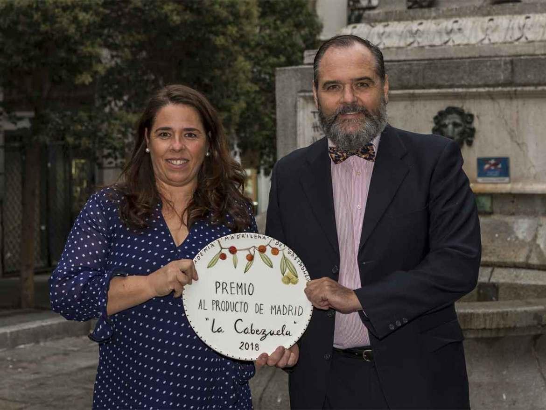 Premios Academia Madrileña de Gastronomía 2018 Quesos La Cabezuela