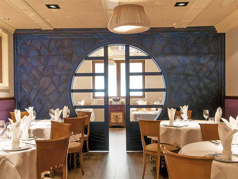 Restaurante The One Comedor