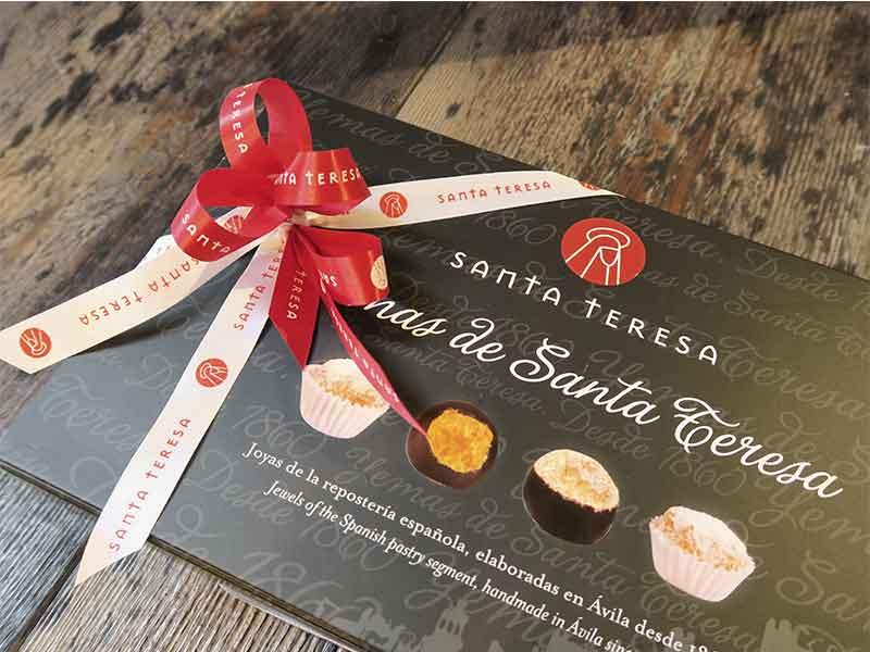 Regalos gourmet baratos 2018 Yemas de Santa Teresa Gourmet