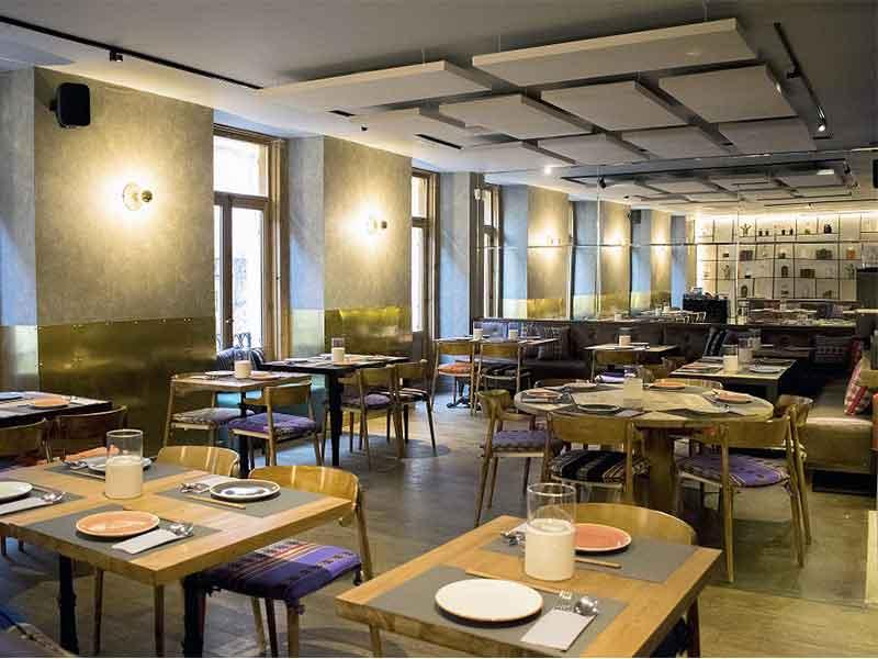 Restaurante Quispe peruano Madrid comedor