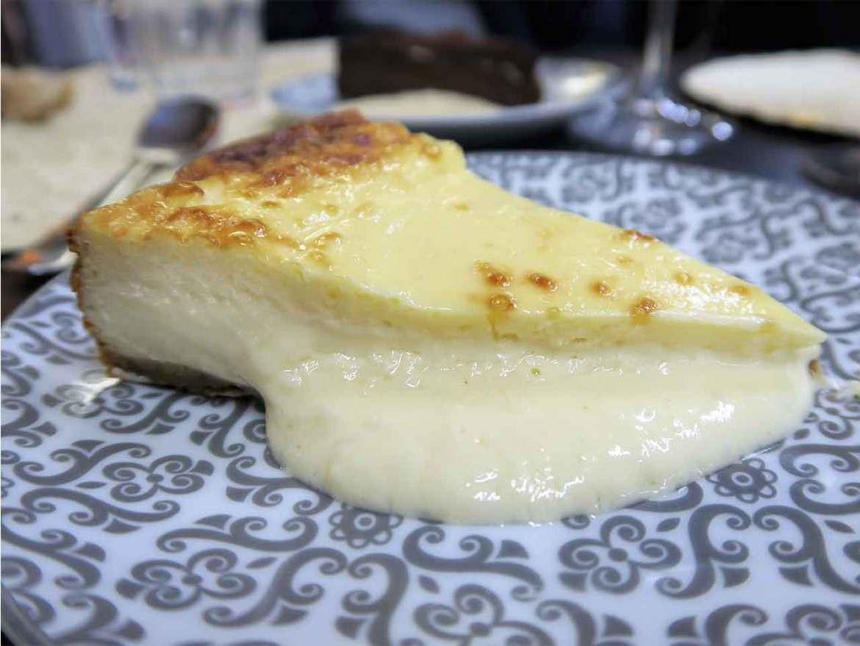 Restaurante Tres por Cuatro Tarta de queso