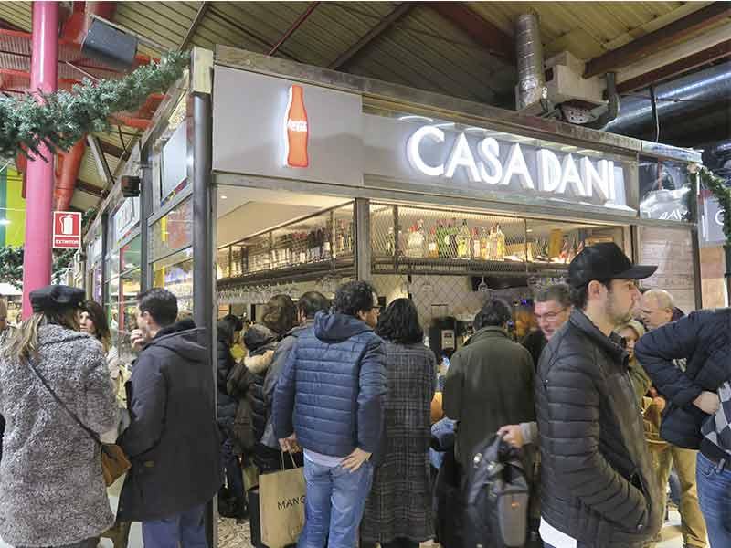 Bar Casa Dani Mercado de La Paz Madrid