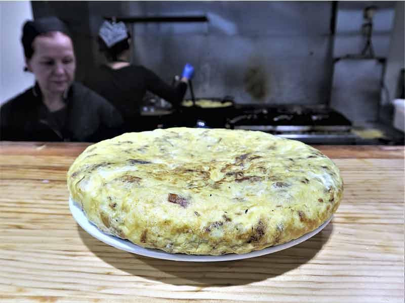 Casa Dani Mercado de La Paz Madrid Tortilla de patata
