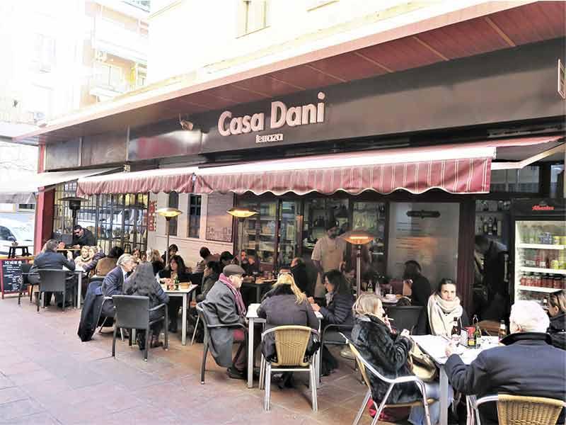 Casa Dani Terraza Mercado de La Paz Madrid
