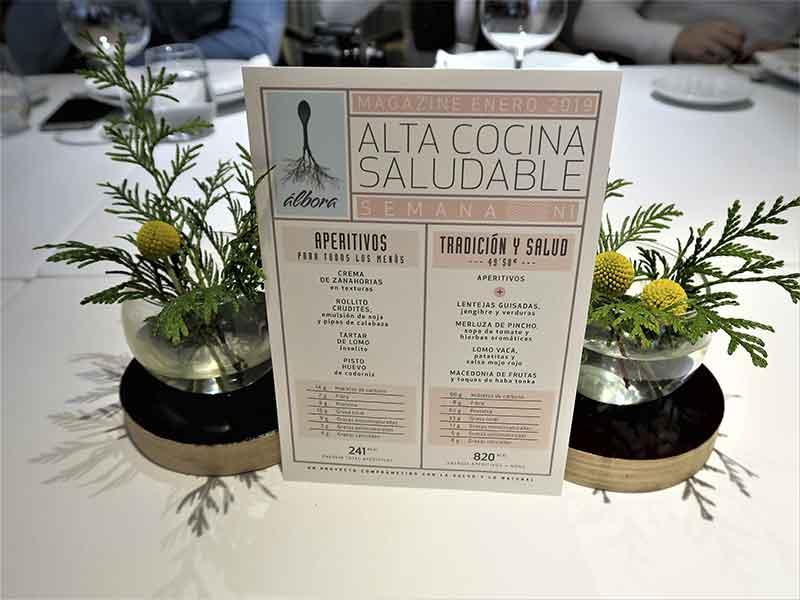 Alta Cocina Saludable restaurante Albora