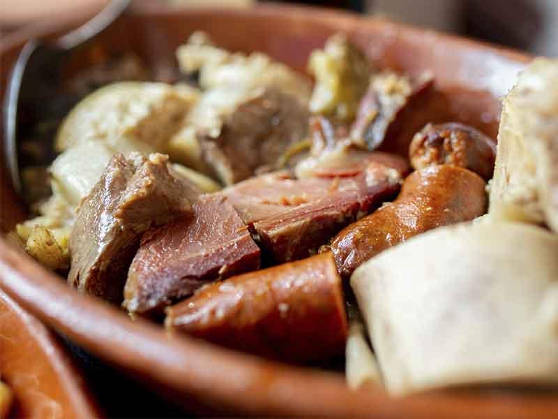 IX Ruta del Cocido Madrileño Carne y jamon