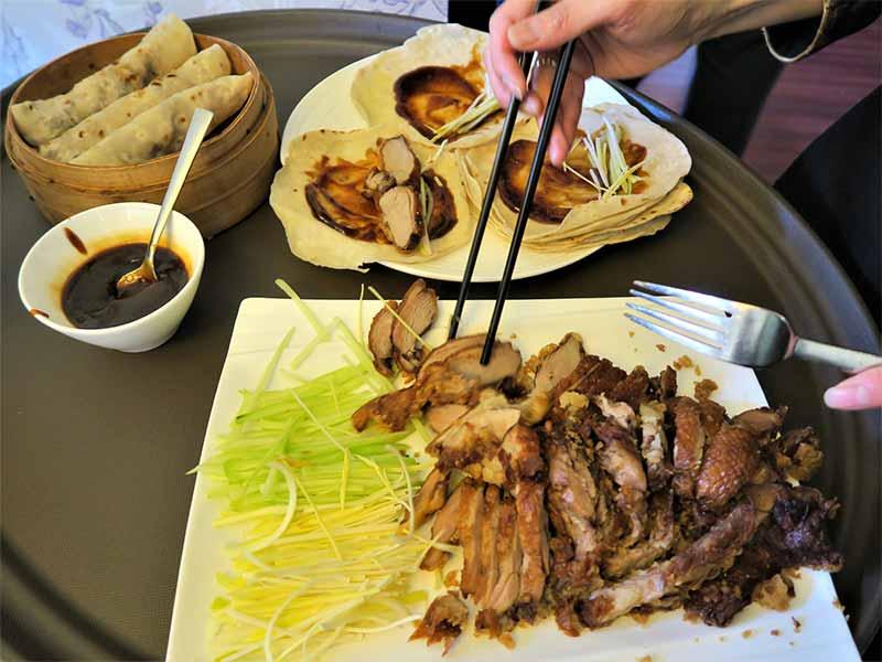 Restaurante chino El Bund Pato Pekin