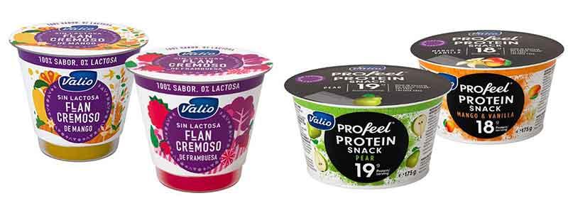 Valio Productos Sin Lactosa y con proteinas para deportistas Queso Quark