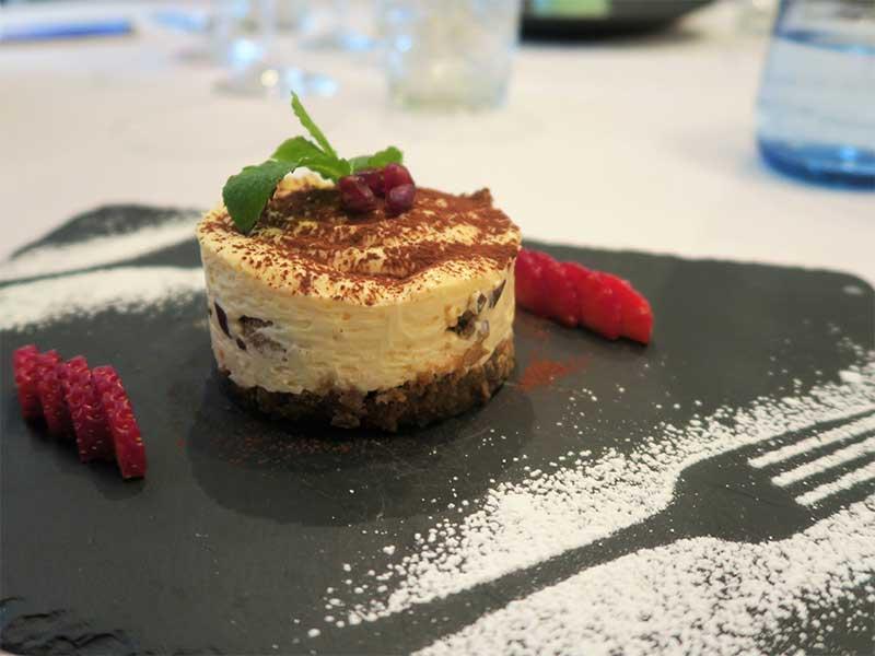 Piu di Prima restaurante italiano Tiramisu