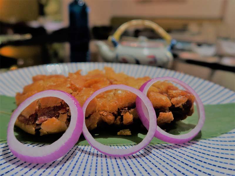 Restaurante Ayala Japon Poke crujiente
